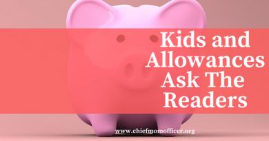 Kids And Allowances