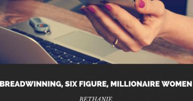 Breadwinning, Six Figure, MIllionaire women
